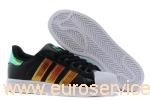 adidas superstar black rainbow,adidas superstar black metallic