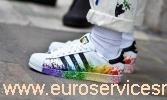 adidas superstar con schizzi di vernice